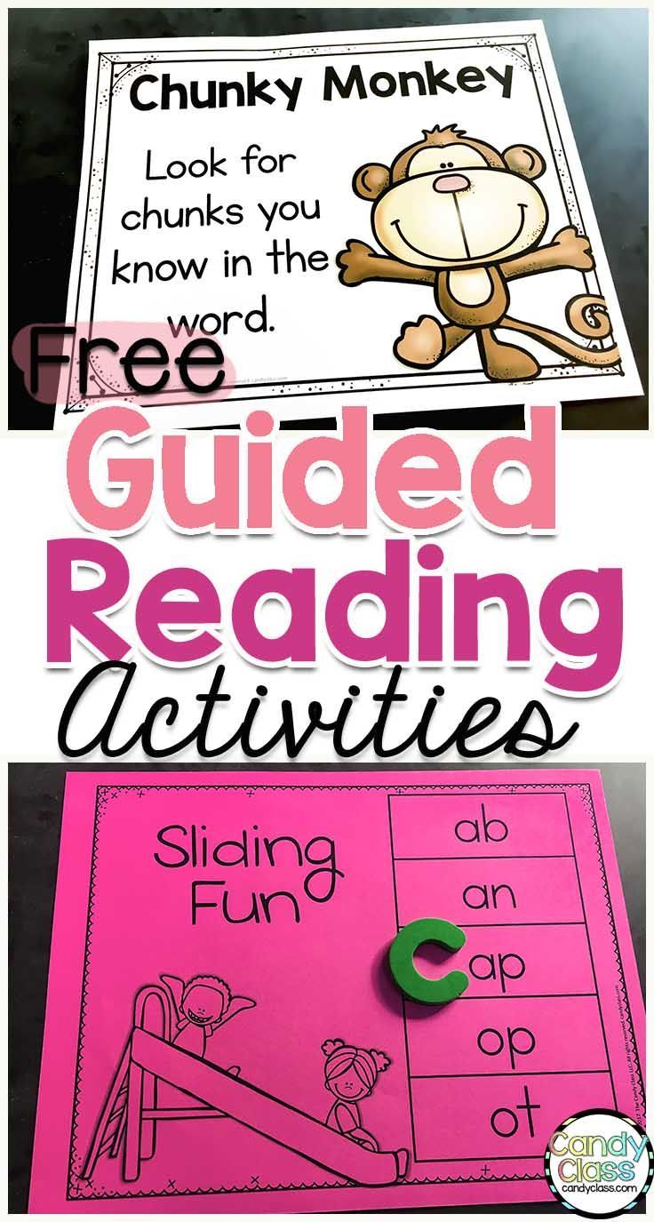 Get some free guided reading activities to teach level