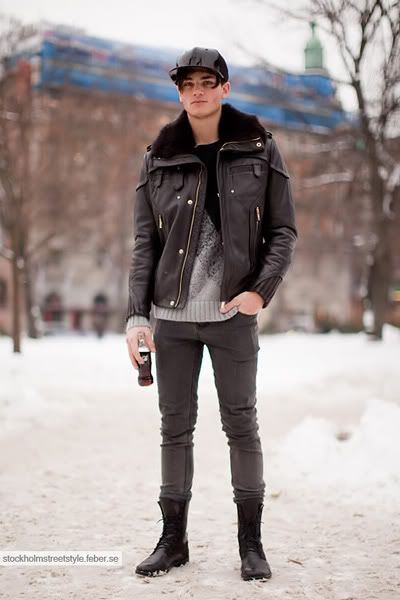 male model street style | ... Wester fashion show by Stockholm Street Style, more after the jump