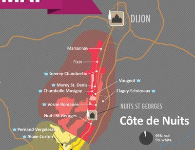 A Simple Guide To Burgundy Wine With Maps Wine Folly Wine Folly Burgundy Wine Burgundy Map