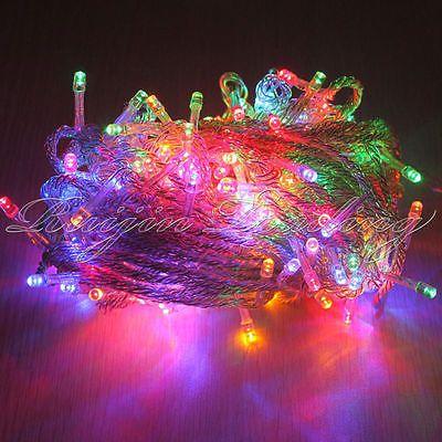 Warm White 100/200/300/400/500 LED String Fairy Lights Xmas