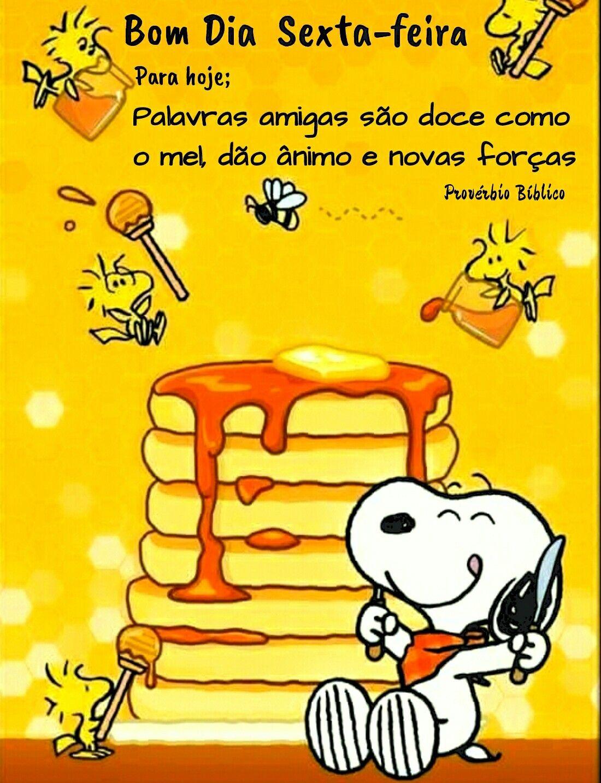 Snoopy em bom dia sexta-feira