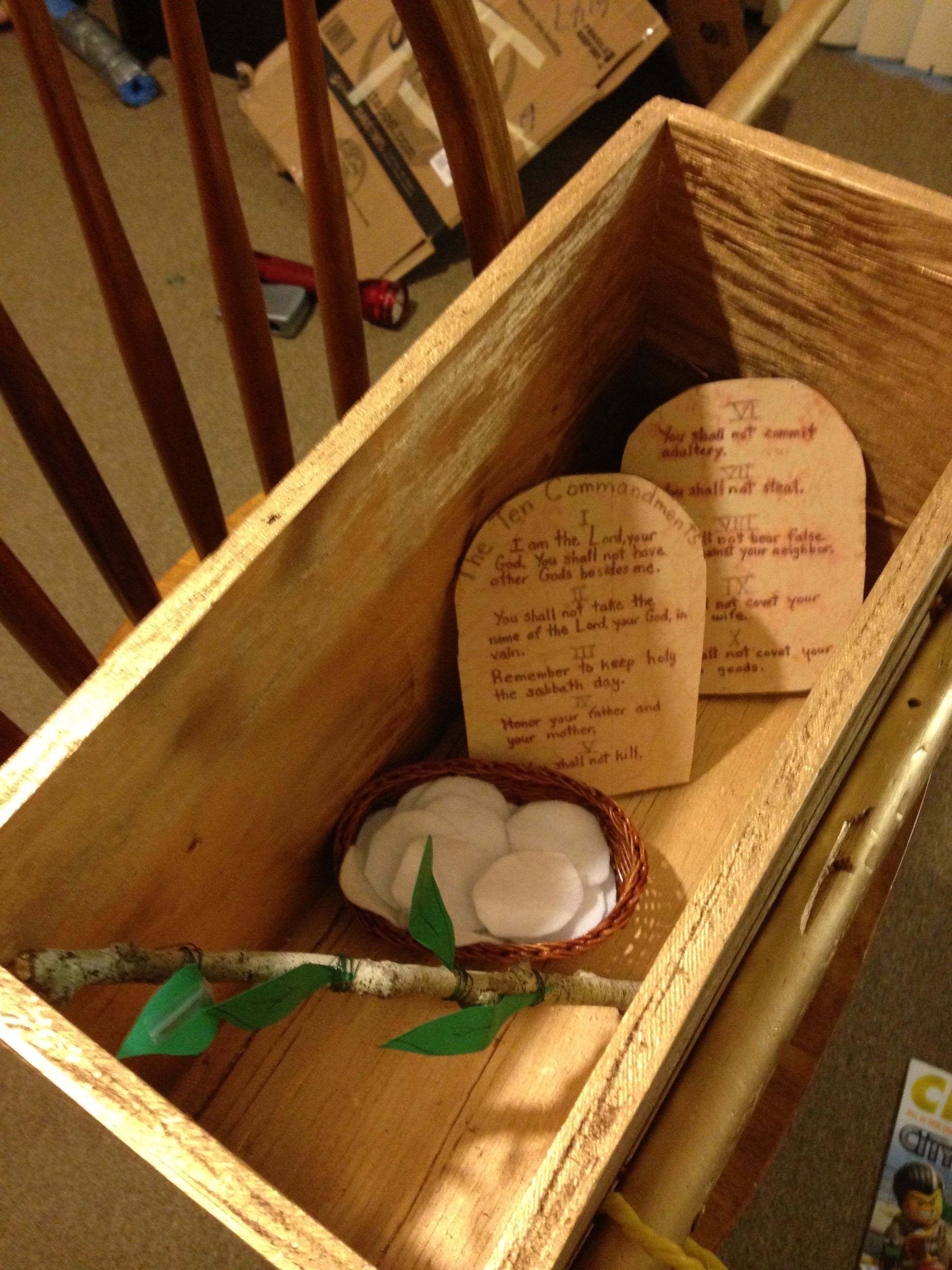 Inside the arc of the covenant church pinterest for The ark of craft
