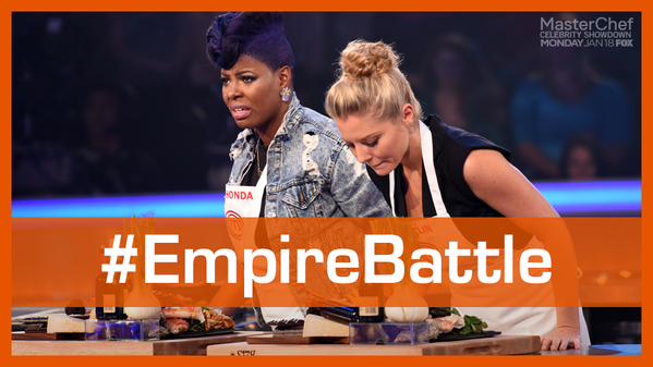 Masterchef Celebrity Showdown Heats Up With Empire Stars And Former Champions Http Www Movienewsguide Com Mast Masterchef Celebrities Masterchef Junior