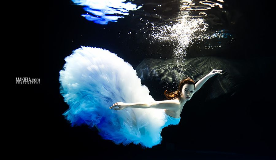 Underwater Ballerina #photography