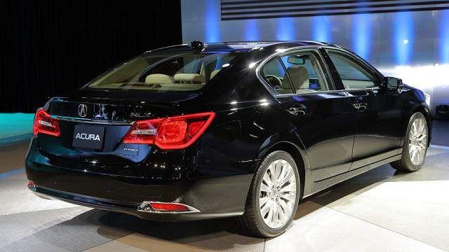 2016 Acura Tsx Back