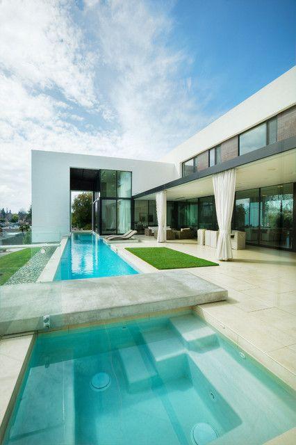 Inside Outside House Modern House Design House Design Pool Houses