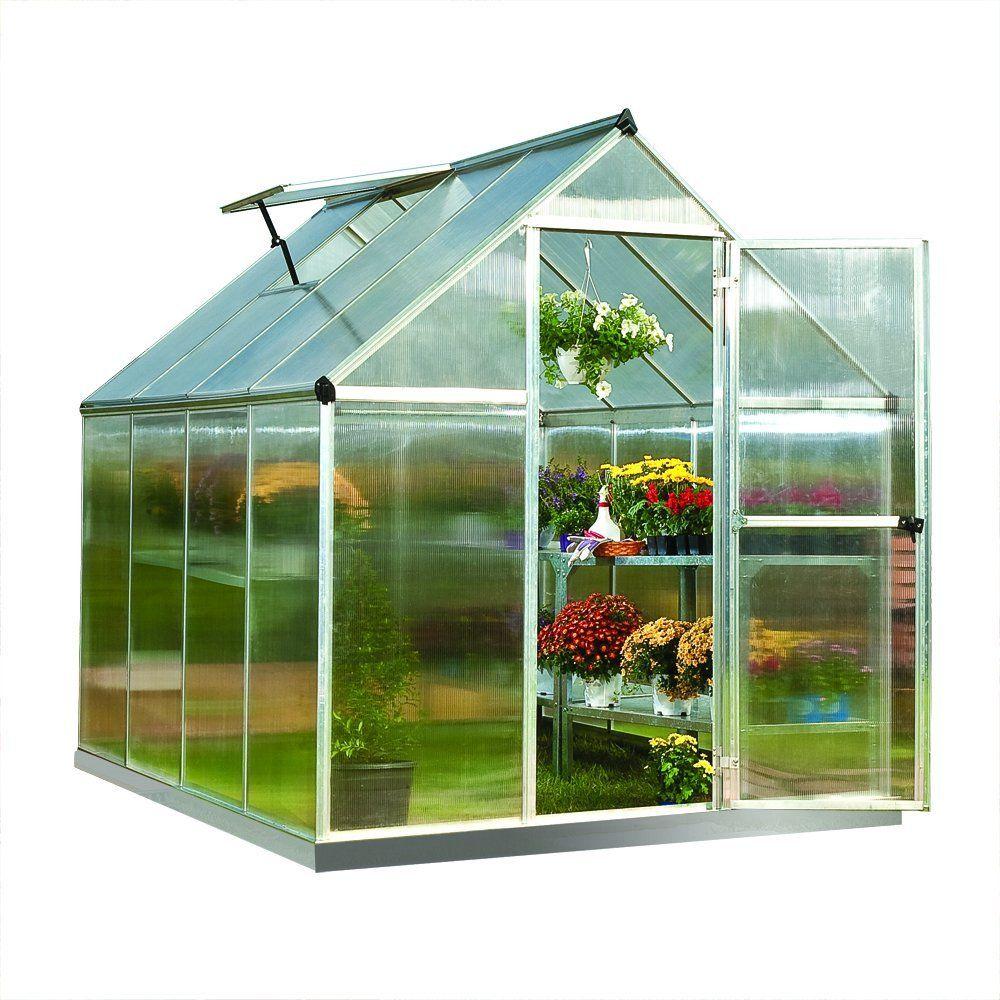 Amazon Com Palram Nature Series Mythos Hobby Greenhouse 400 x 300
