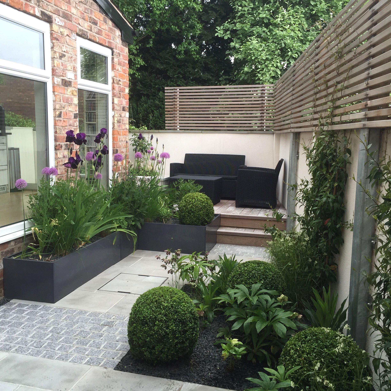 10 Cozy Terrace Garden Design Ideas That Will Make Your Home Beautiful Small Garden Landscape Design Small Garden Design Modern Landscape Design Front Yard