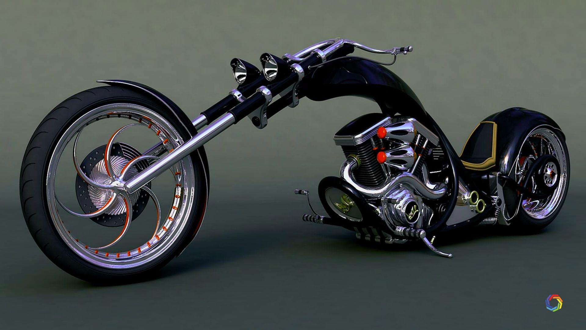 Beautiful Rocking Bikes Full Hd Wallpapers Chopper Bike Ghost Bike
