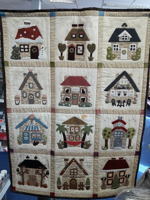 Wilmas Homemade Quilts.Wilma S Homemade Quilts Patchwork House Quilt Block
