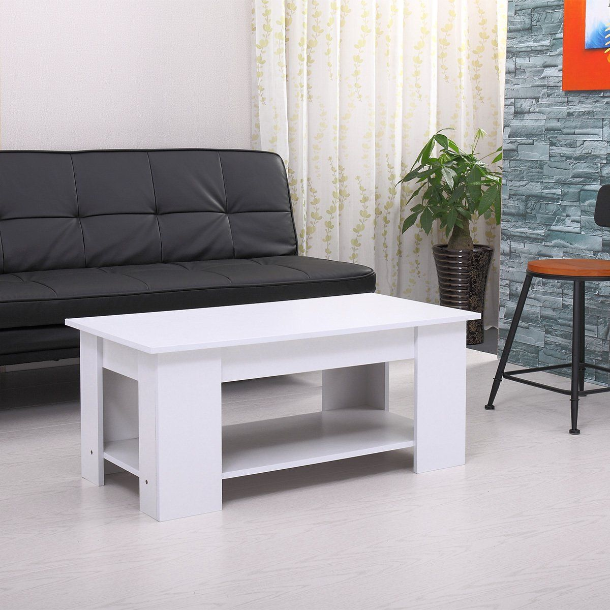 Tobbi White Lift Top Coffee Table W Storage Shelf And Lift Tabletop Wish To Know Much More Click On The Photo Coffee Table Lift Top Coffee Table Home Decor [ 1200 x 1200 Pixel ]