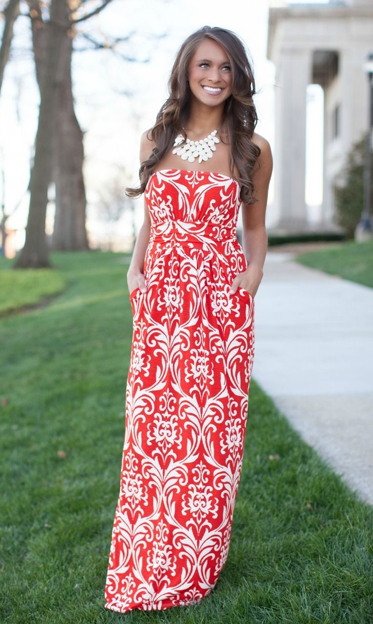 Dreamin Of Damask Maxi - The Pink Lily Boutique | moda | Pinterest ...