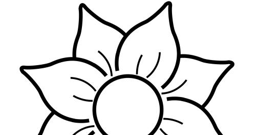 Banco de Imagenes y fotos gratis: Dibujos de Flores para Colorear ...