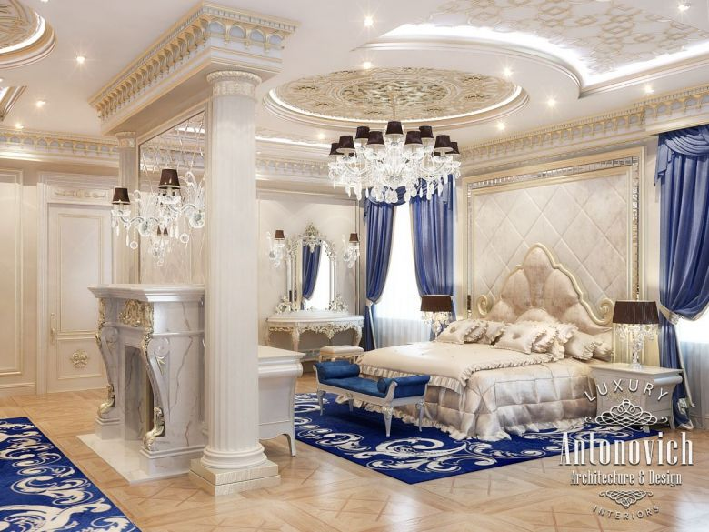 Bedroom Design In Dubai, Master Bedroom Interior UAE, Photo 5