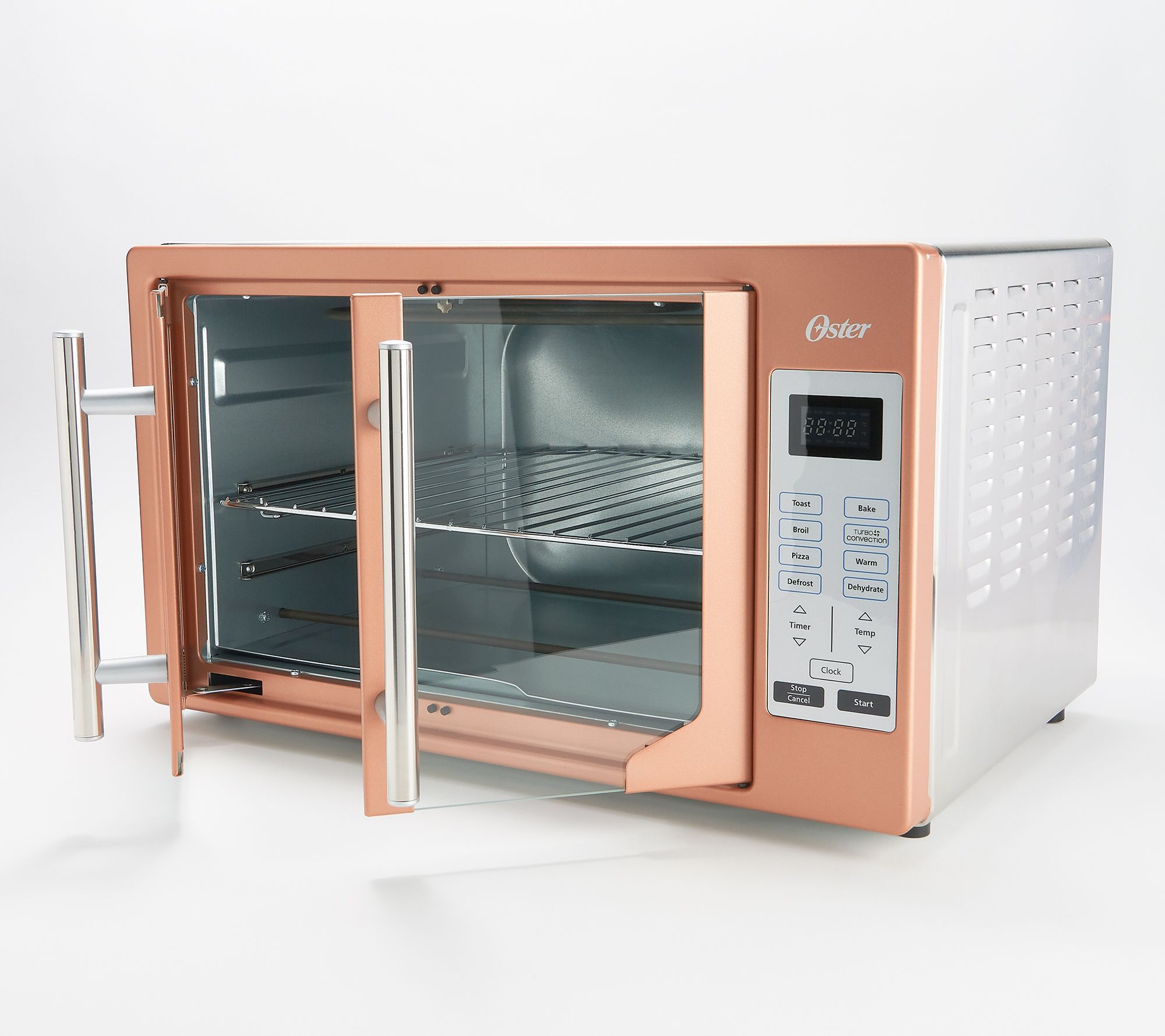 Oster Xl Digital Convection Oven W French Doors Qvc Com Convection Oven Convection French Doors