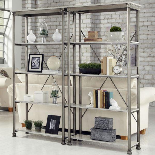 U0027The Orleansu0027 Multi Function Marble Shelves   Overstock™ Shopping   Great  Deals On Media/Bookshelves