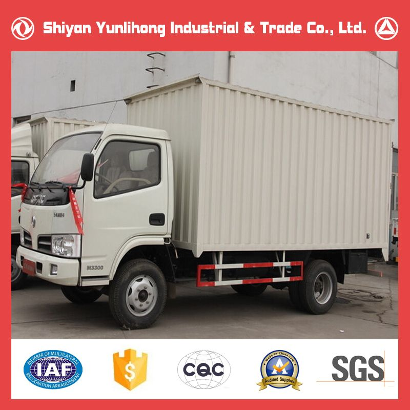 dongfeng 4x2 3t cargo van truck sale carry container truck small box trucks for sale alibaba. Black Bedroom Furniture Sets. Home Design Ideas