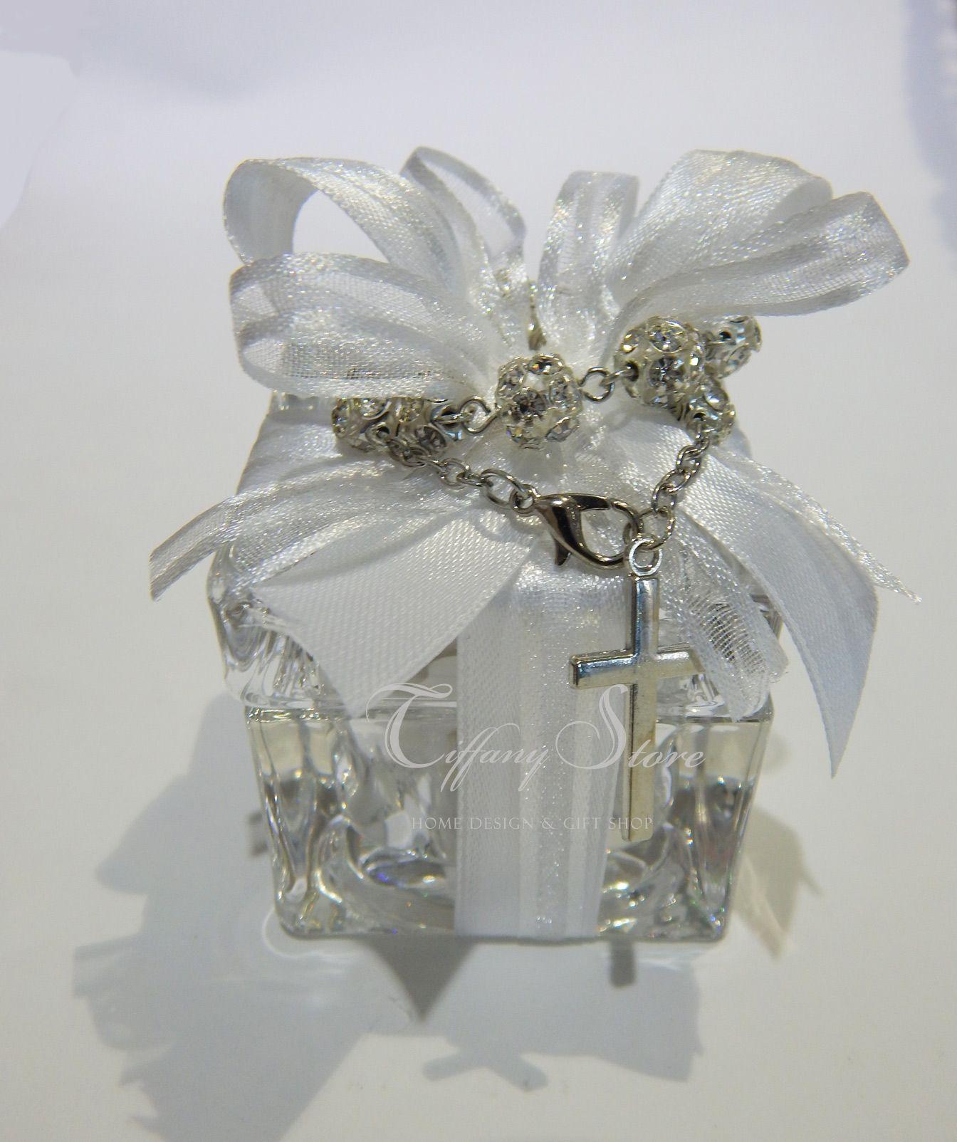 Bomboniere Matrimonio Stile Rustico : Bomboniere scatoline in cristallo multiuso confezionate