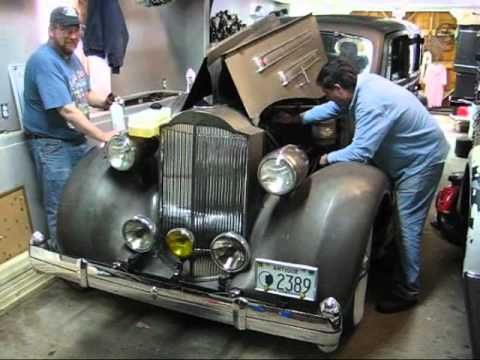 1935 Packard V 12 Barn Find Part II Tom Laferriere Classic Cars