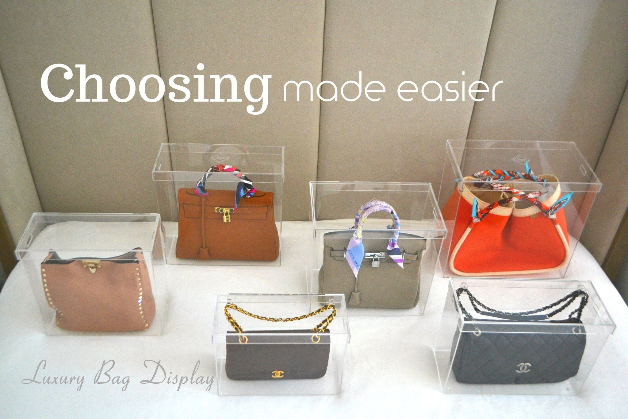07e37e4fc7e0b1 Best Handbag Storage Solution-Luxury Bag Display   Bag Organization ...