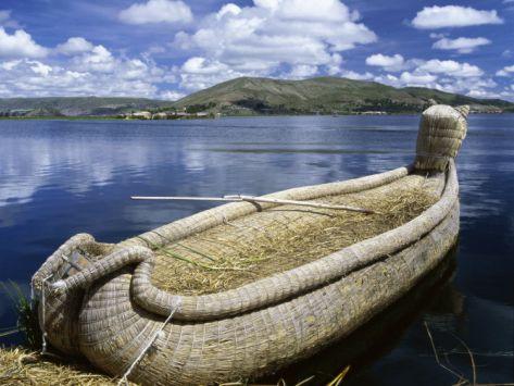 Reed Islands Peru | Reed Boat Uros Islands Lake Titicaca Peru Photographic Print at Art ...
