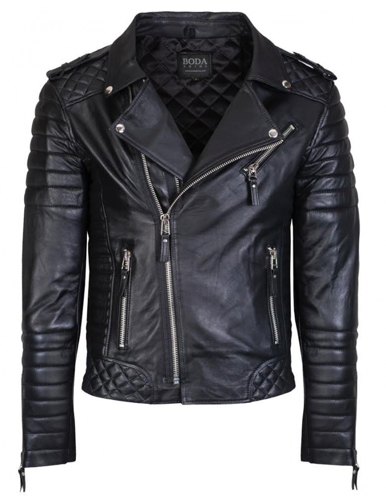 BODA SKINS Kay Michaels Quilted Biker ($660) | Apparel | Pinterest ...