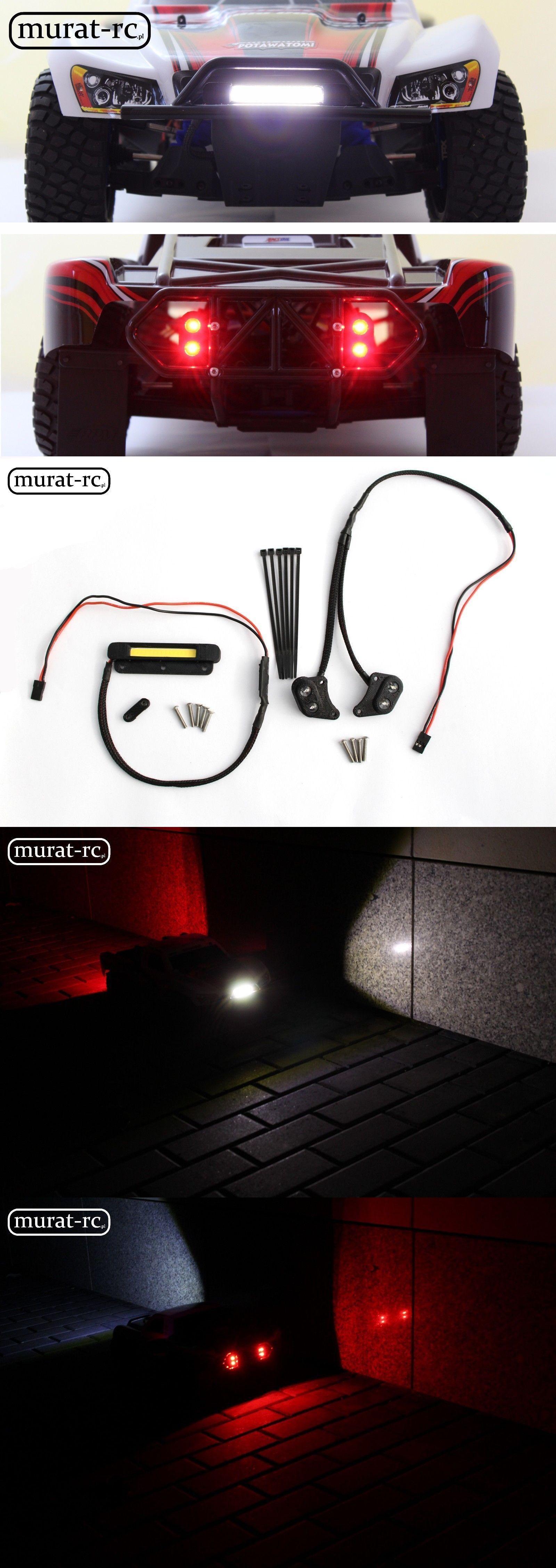 LED Light For RPM Bumper Traxxas Slash 1//10 4x4 2WD waterproof by murat-rc