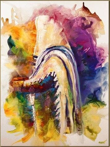 Pin By Vanina Cavallini On Jewish Judaica Paintings Judaica Art Jewish Art
