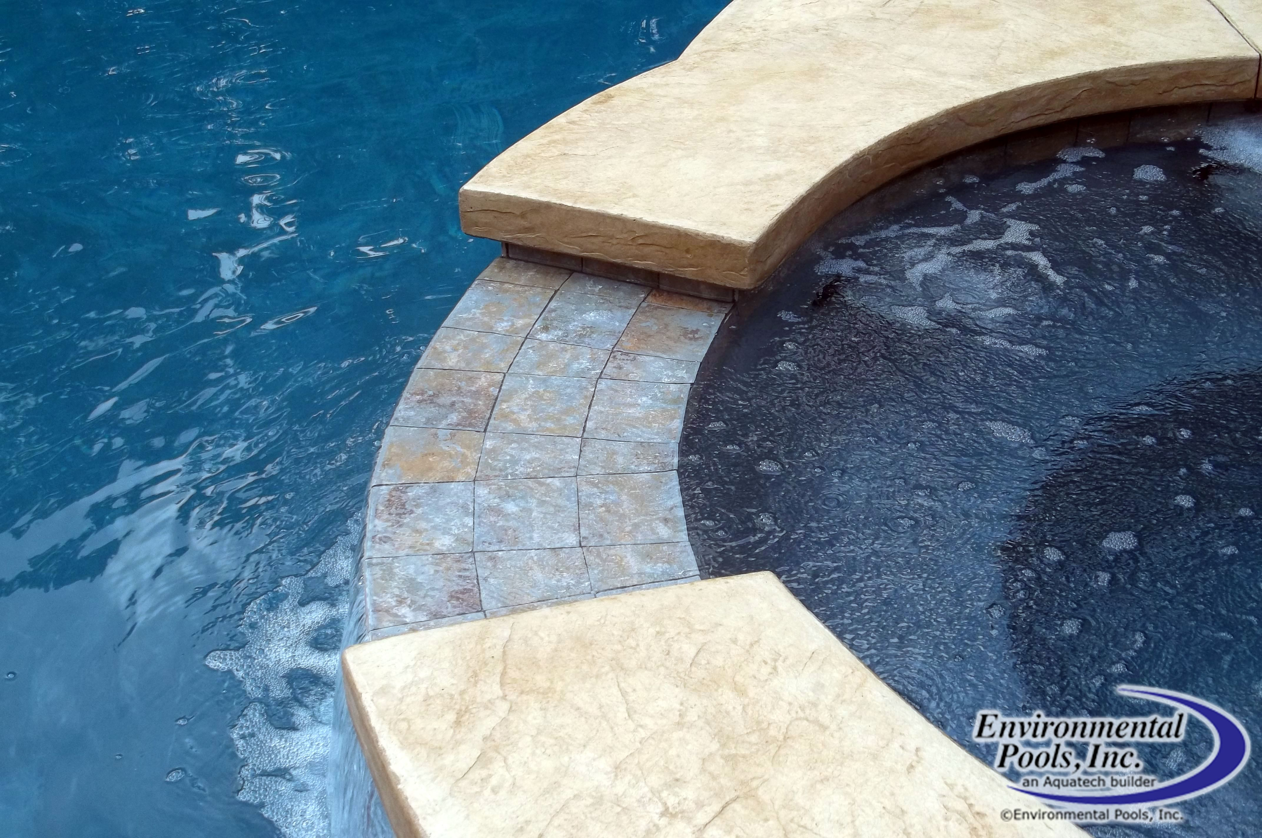 spa spillway brand new projects pinterest spa and pool designs