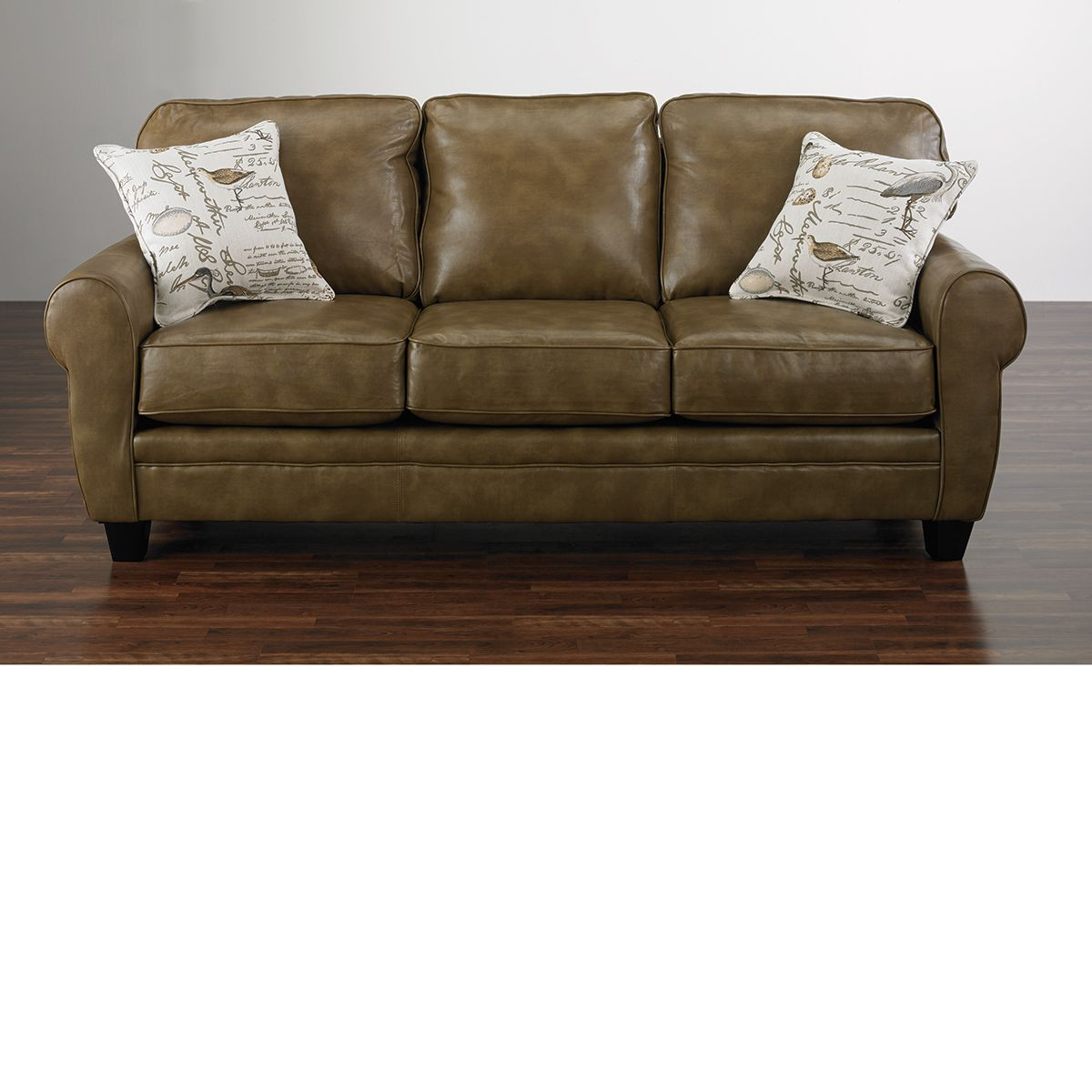 Handmade Leather Sofa: The Dump Furniture - Handmade Leather Sofa