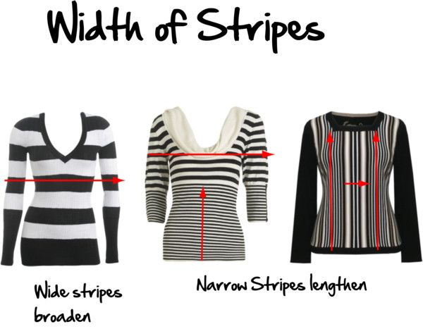 Which Are More Slimming Horizontal Or Vertical Lines Dressing Your Body Type Inside Out Style Horizontal Striped Dress
