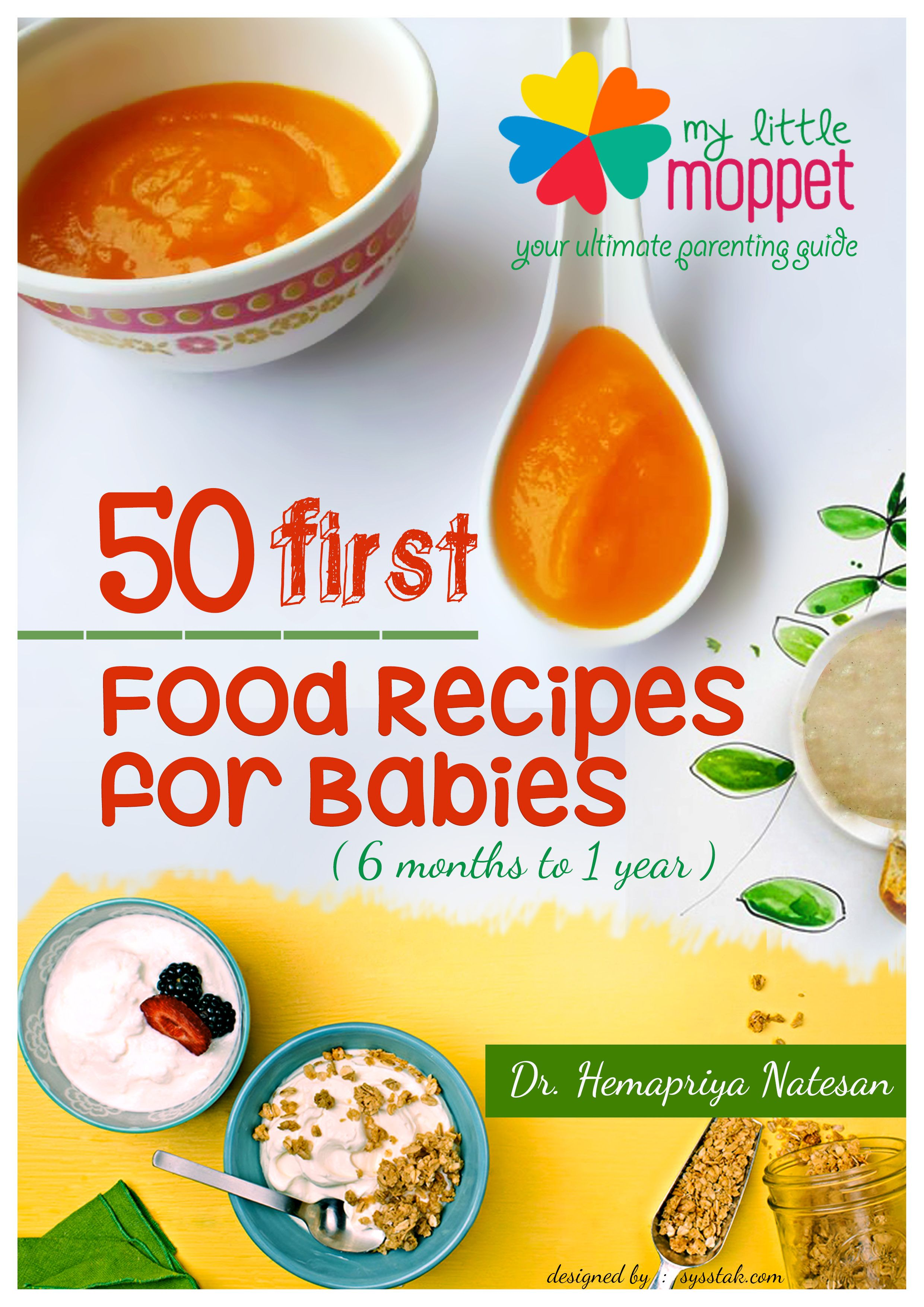 Free e book 50 first food recipes for babies baby food recipes free e book 50 first food recipes for babies my little moppet forumfinder Images
