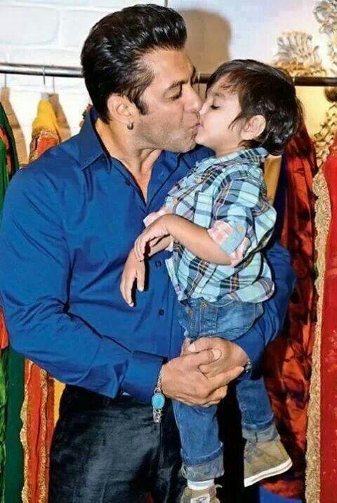 Salman Khan With His Nephew Salman Khan Salman Khan Photo