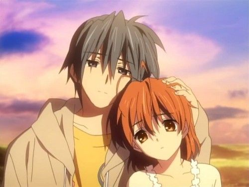 Tomoya And Nagisa From Clannad This Has To Be My Favourite