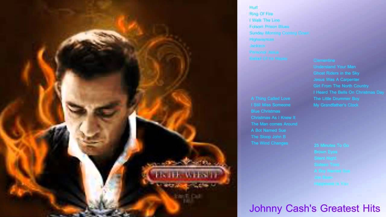 Johnny Cash\'s Greatest Hits 2015 Best Song Johnney Cash | Full ...