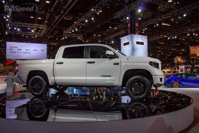 2019 Toyota Tundra Trd Pro Exterior Side Pick Up Pinterest