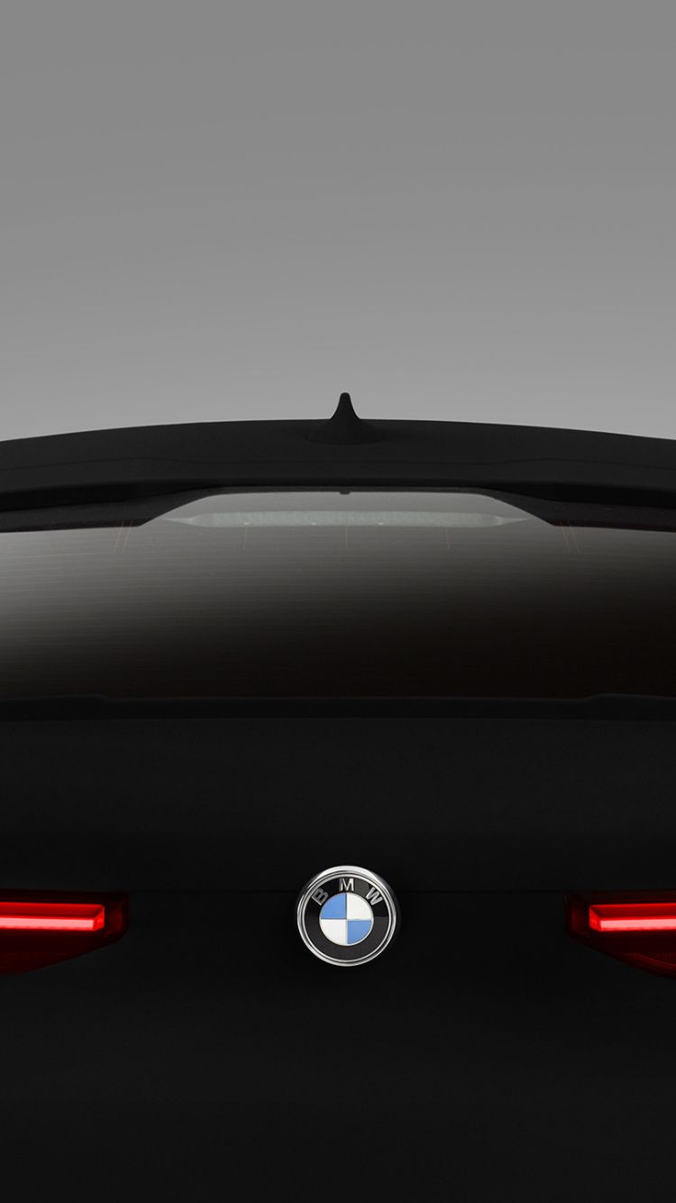 750x1334 Bmw X6 Vantablack Rear View 2020 Wallpaper Bmw X6 Bmw Wallpapers Bmw