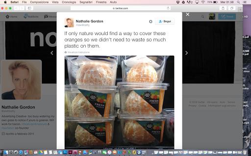 Whole Foods ritira le arance già pelate di IV gamma
