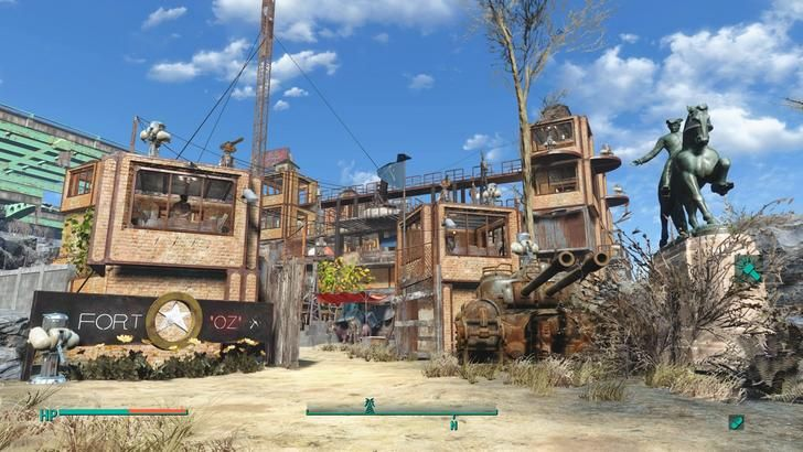 Fort Oz Outpost Zimonja Outpost Zimonja Fallout 4 Settlement Post Fallout Four Fallout 4 Settlement Ideas Outpost