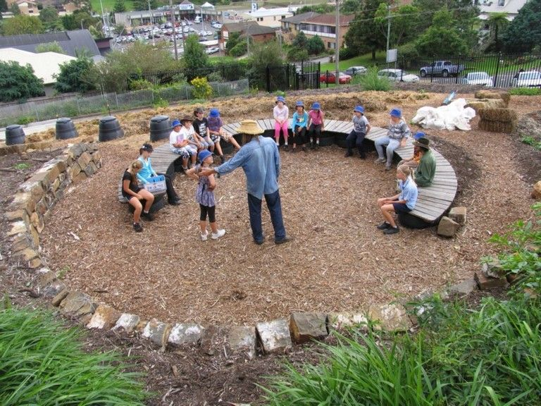 33+ Sweet Simple School Garden Design Ideas | Backyard ...