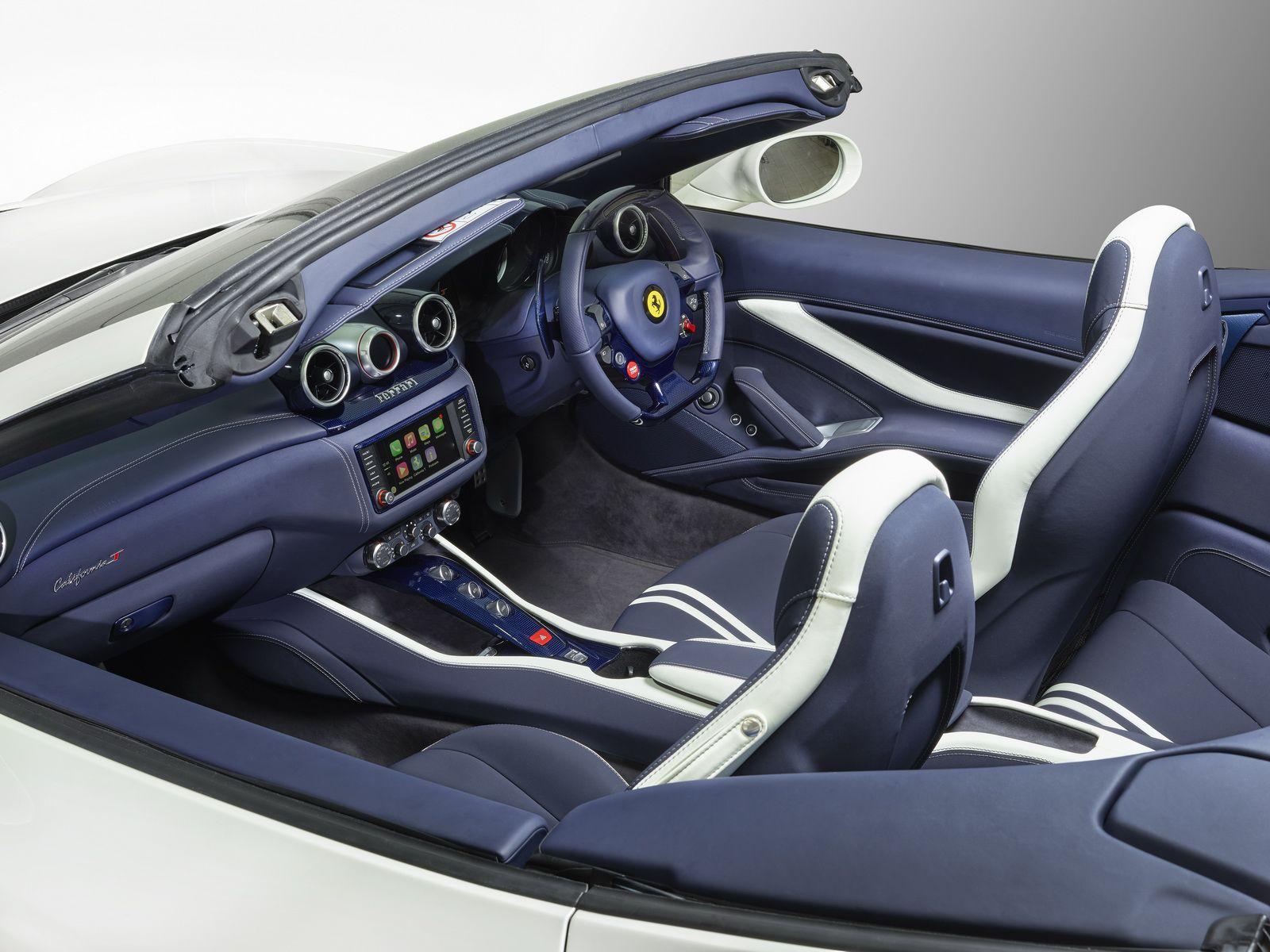 2017 Ferrari California T Interior