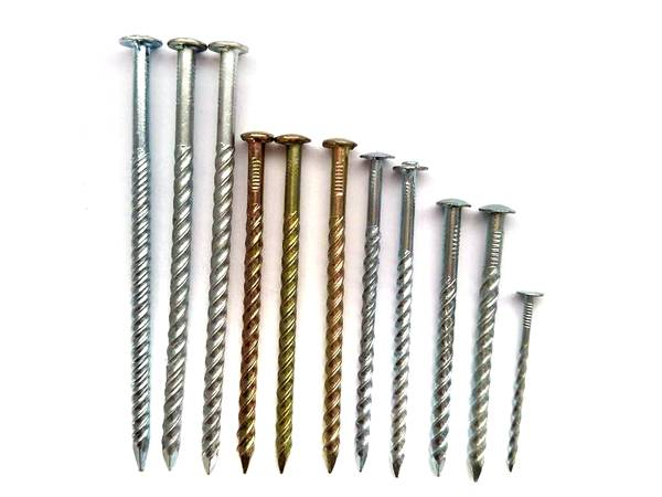 Screw Nails For Hardwood And Dense Construction In 2020 Steel Nails Corrugated Metal Roof Framing Nails