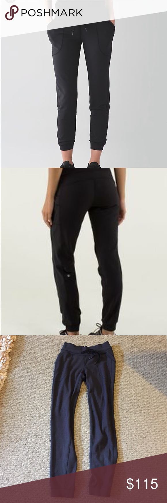 Lululemon base runner pants Like new, excellent condition, too big for me lululemon athletica Pants Track Pants & Joggers