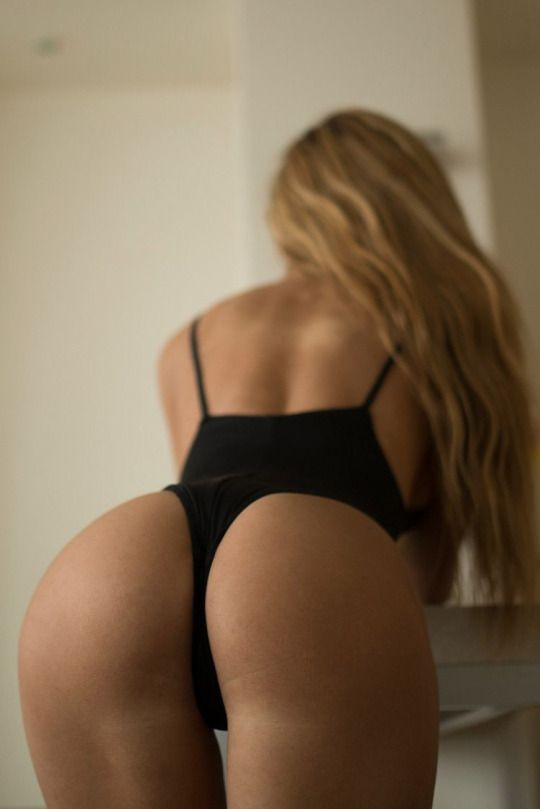Consider, that Blonde perfect ass bent over
