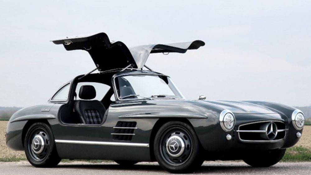 This Incredible Resto Mod Mercedes Benz Gullwing Is Actually A