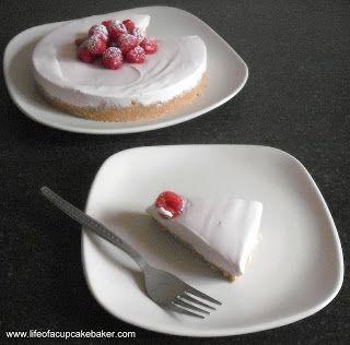 No-Bake Raspberry Cheesecake - Life of a Cupcake Baker