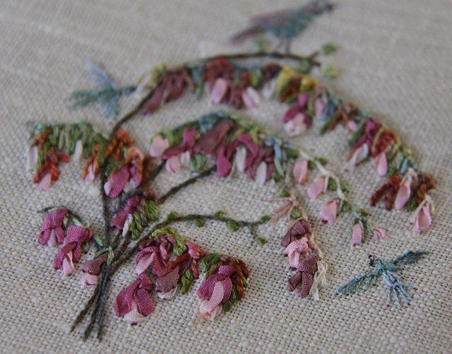 Knotted Buttonhole Stitch by carorose, via Flickr