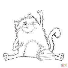 R sultat de recherche d 39 images pour splat le chat coloriage album splat le chat pinterest - Chat a colorier maternelle ...