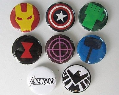 Agents of Shield RING Marvel Hulk,Thor,Spiderman,Iron Man,Cap America Sz 8-14