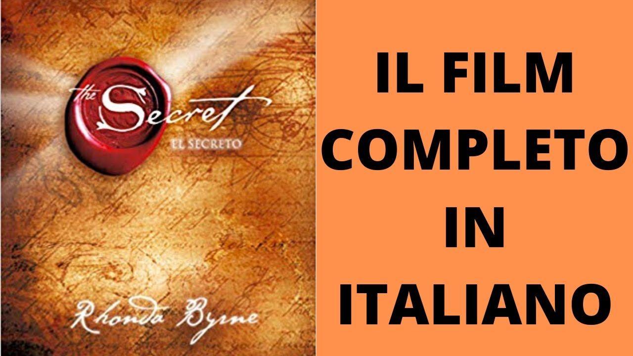The Secret La Legge Dell Attrazione Il Film Completo In Italiano Youtube Legge Dell Attrazione Frasi Di Successo Libri Di Psicologia